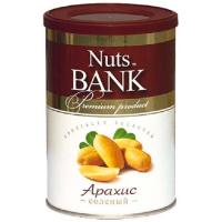 Арахис соленый NUTS BANK 200 г.