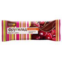 Фруктовый батончик глазированный «Фрутилад  с вишней в шоколаде» 40г