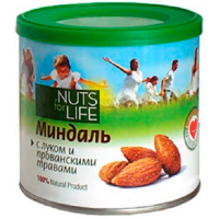 Миндаль с луком и прованскими травами NUTS for Life 115 г.