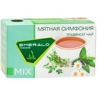 Напиток чайный «Emerald MIX Mint Symphony» /Мятная симфония 33г (1.5г*22пак.)