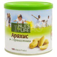 Арахис с пряностями NUTS for Life 115 г.