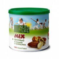 Микс ореховый Nuts for Life в специях и пряностях 115 г.