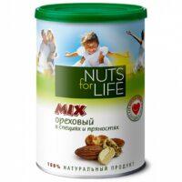 Микс ореховый Nuts for Life в специях и пряностях 200 г.