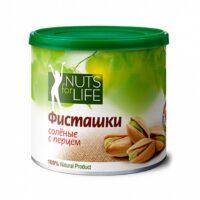 Фисташка соленая с перцем NUTS for Life 100 г.