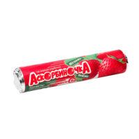 Конфета «Аскорбиночка со вкусом клубники», скрутка 14 конфет по 2,7 г.